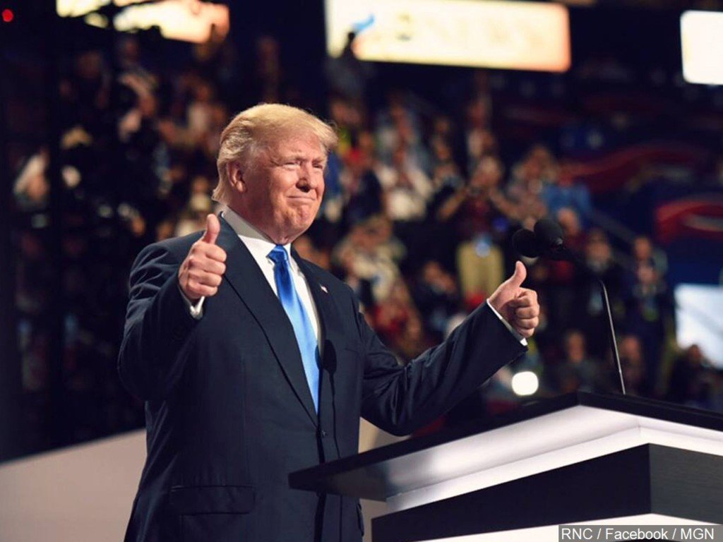Trump officially claims Republican presidential nomination