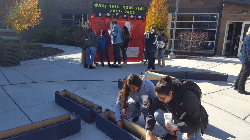 Wapato High School students take pledge to be drug and alcohol free