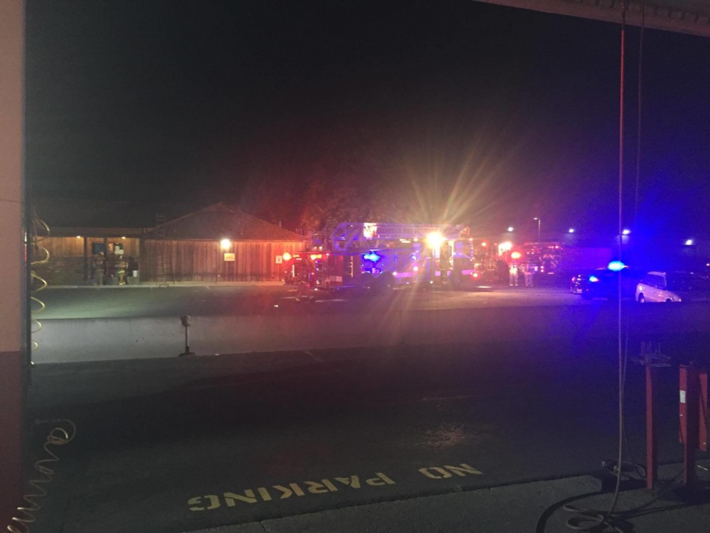 Fire breaks out at Billy's Bull Pen Tavern in Kennewick