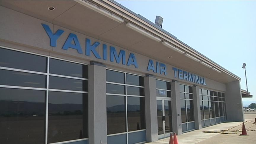 Aircraft landing on its belly causes two-hour shutdown at Yakima Airport
