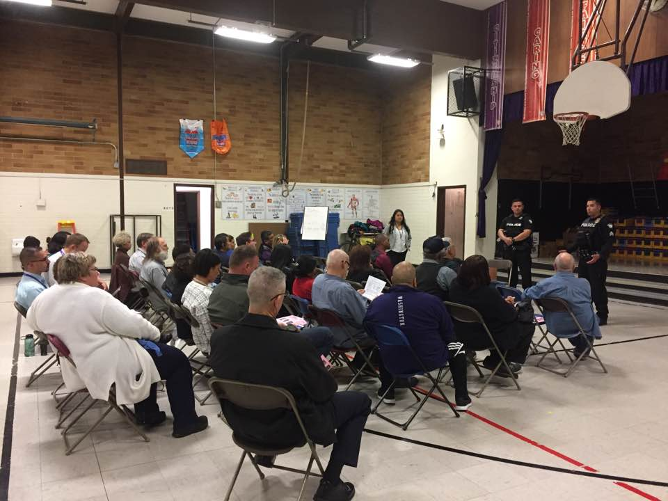 City Council members and residents come together to prevent crime