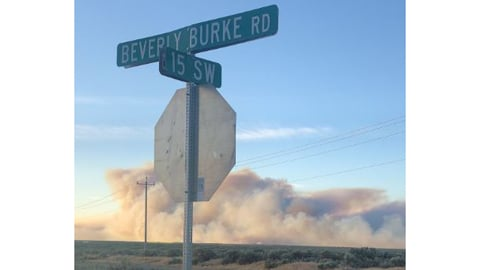 #243Fire burns 3,000 acres, state mobilization declared