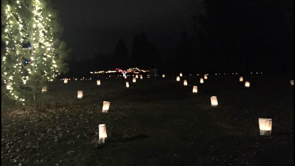 After 25 years the Luminaria candle-lit walk still brings hundreds to the Yakima Arboretum