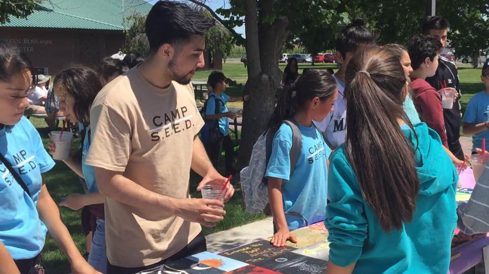 Middle school students host Market Day at Heritage University