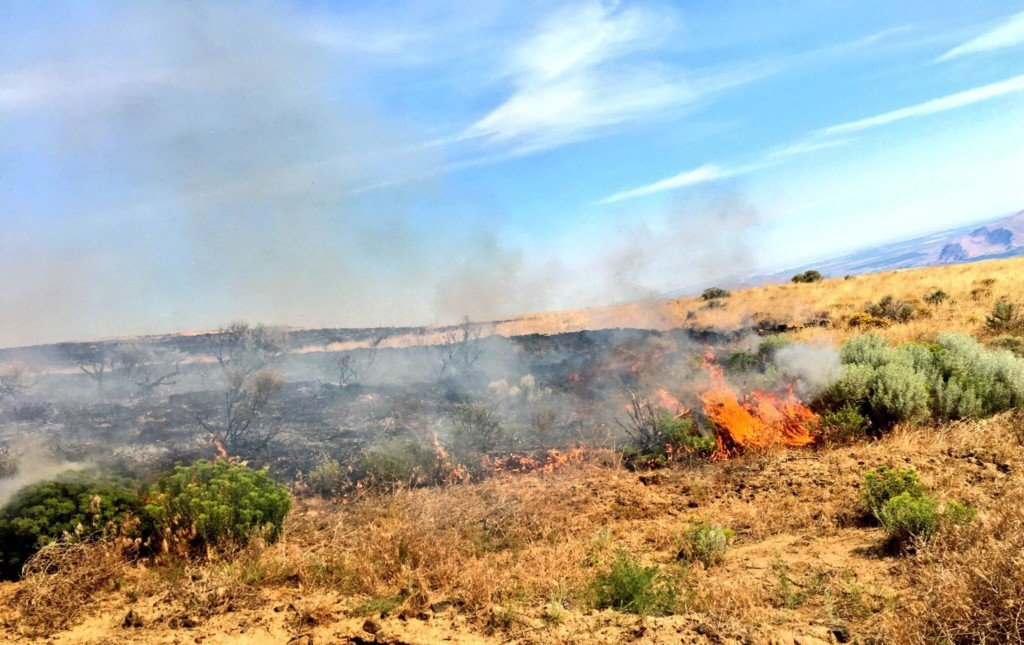 Wildfire burning over 32,000 acres in Yakima