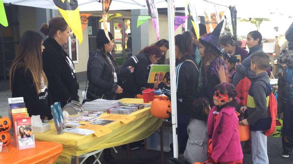 Thousands attend the annual YVFWC Trunk or Treat Health Fair
