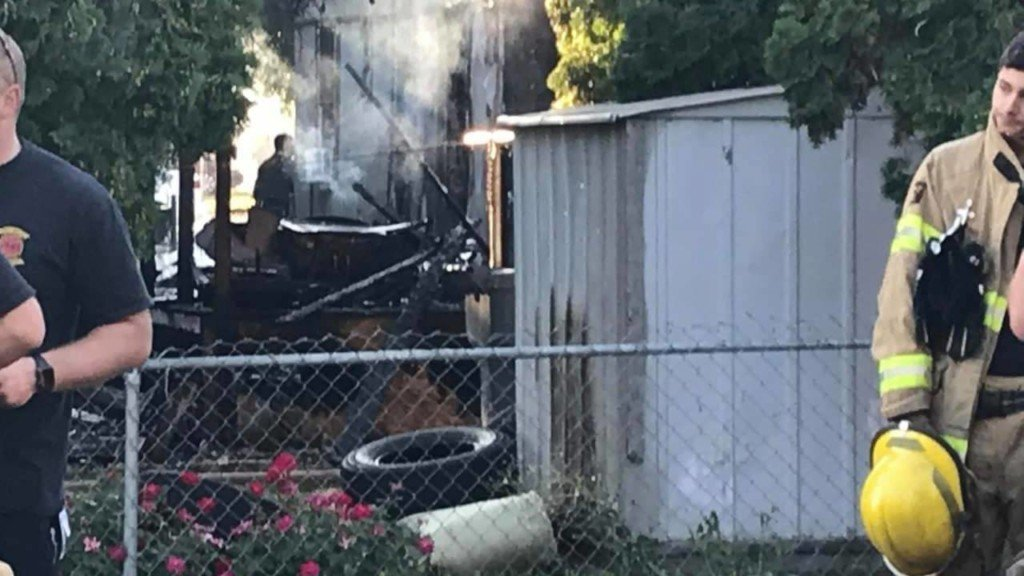 Prosser house fire sends two people to the hospital