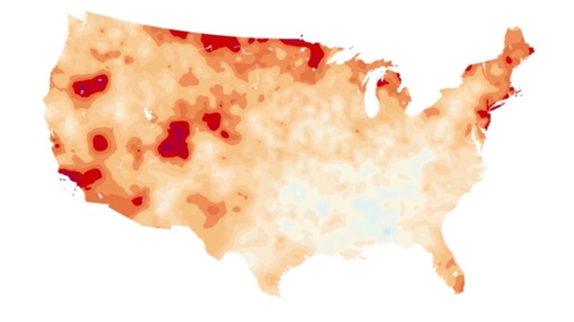 Local average temperatures on the rise, according to NOAA records