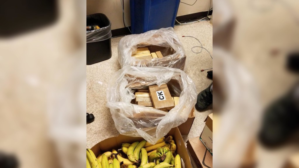 Cocaine found in Safeway banana boxes