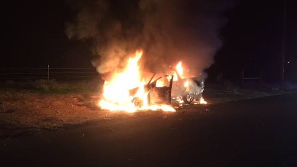 Car stolen out of Kennewick found burning in West Richland