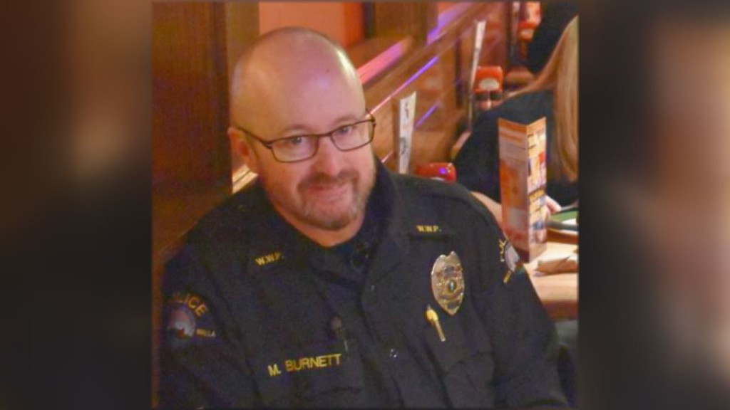 Retiring WWPD Officer Mike Burnett