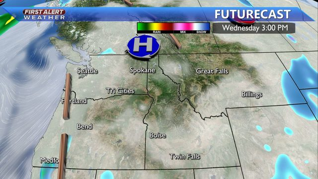 Could we see snow flurries on Christmas Day? -Kristin