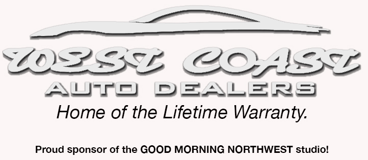 West Coast Auto Dealers - Proud sponsor of the Good Morning Northwest Studio