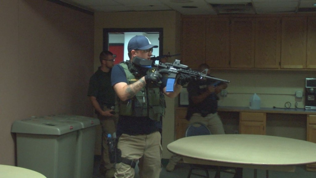 Toyota Center hosts active shooter training