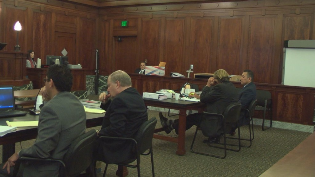 Jury hears interview with defendant during retrial for former police officer accused of rape