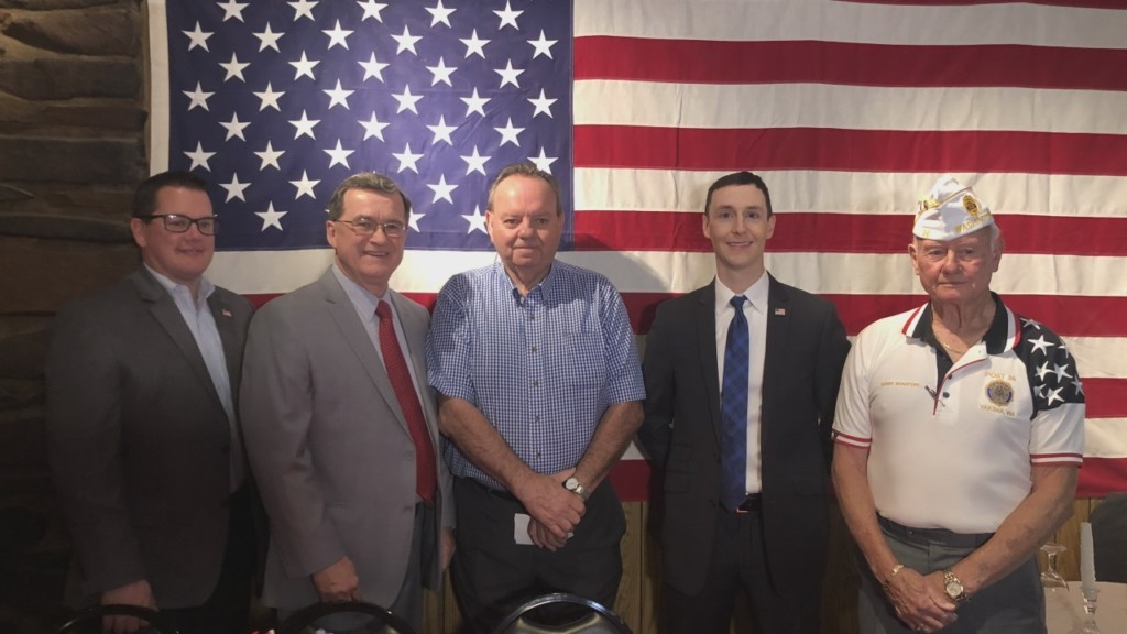 Yakima's American Legion receives donation for new HVAC system