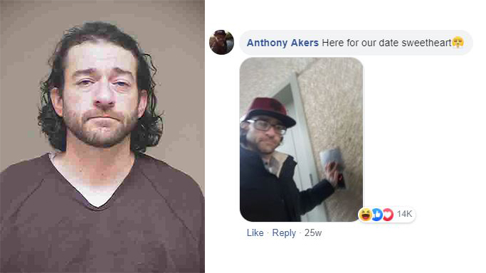 Man who famously trolled RPD on Facebook arrested once again