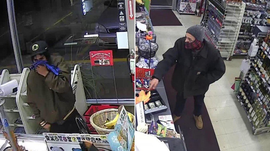 New images released of suspects wanted for 7-Eleven robbery in Terrace Heights
