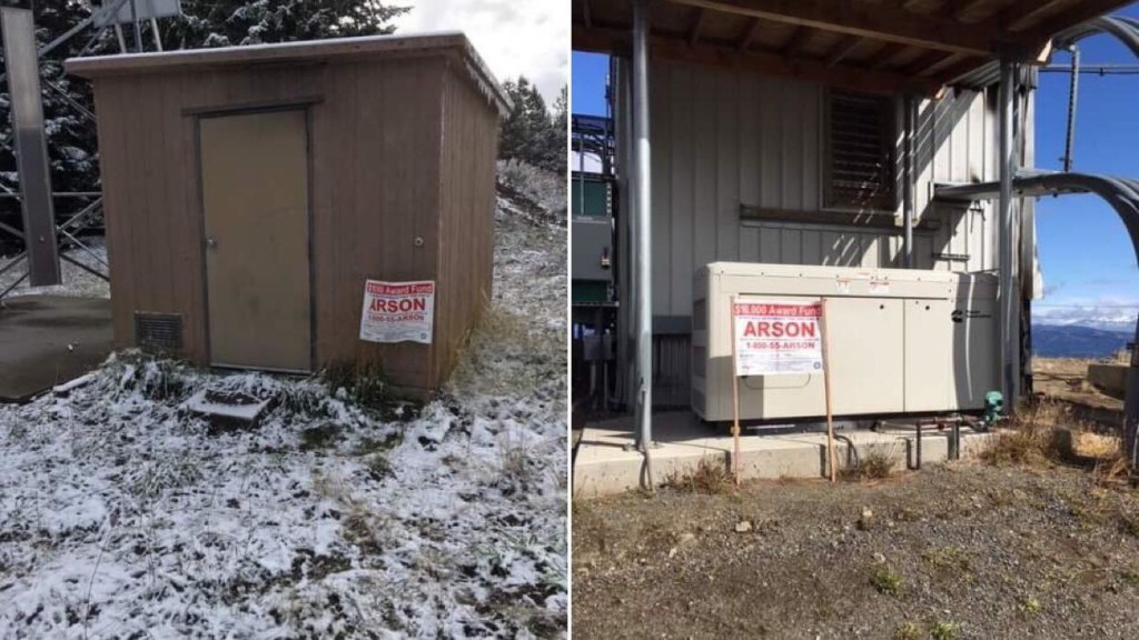 $10,000 reward available for information on arson fires in Kittitas Co.