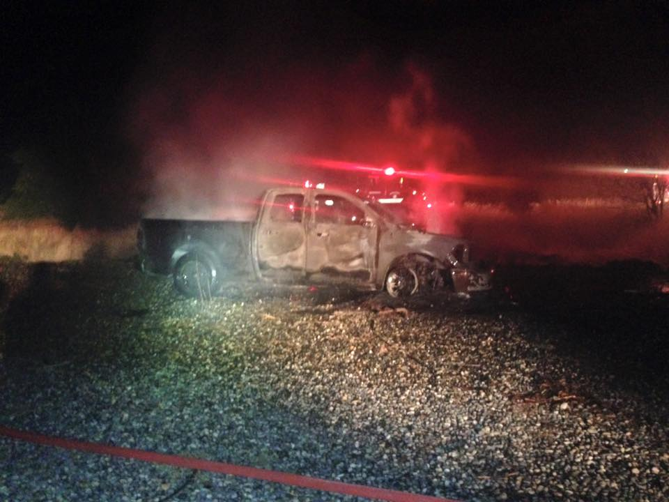 Juveniles wanted for stealing truck, lighting it on fire in Kennewick