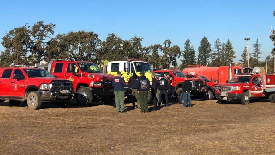 Benton County, Walla Walla firefighters could be heading back from California
