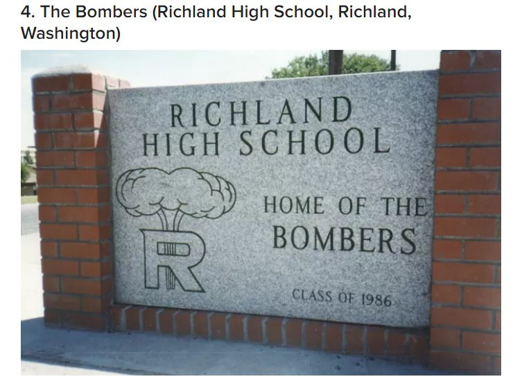 Richland Bombers criticized in Buzzfeed list