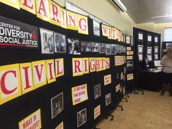 Civil Rights exhibit open at CWU in honor of Black History Month