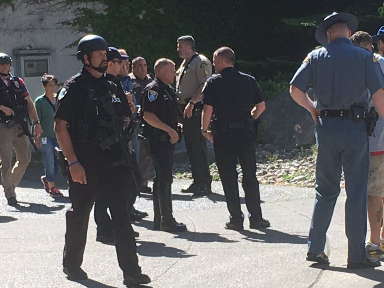 Lockdown lifted after reports of active shooter at Washington State Capitol