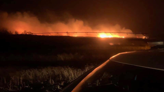 High winds made 3 Prosser-area fires difficult to fight, official says