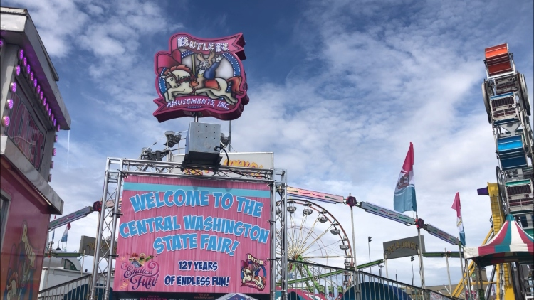 Central Washington State Fair attendance down due to cold weather