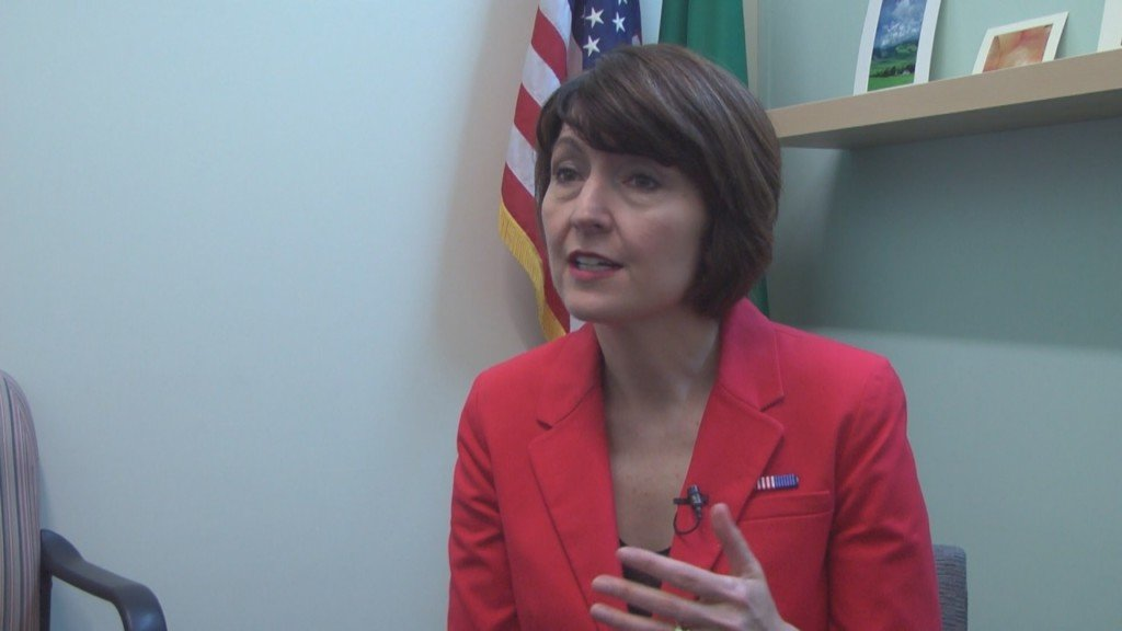 Congresswoman McMorris Rodgers talks about top issues facing the country during her Washington visit