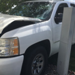 College Place man crashes into two yards, home after medical issue