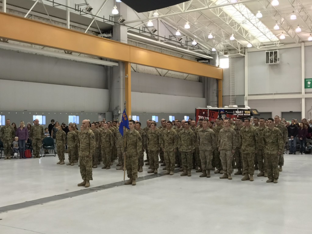 Pendleton Chinook unit honored at Demobilization ceremony