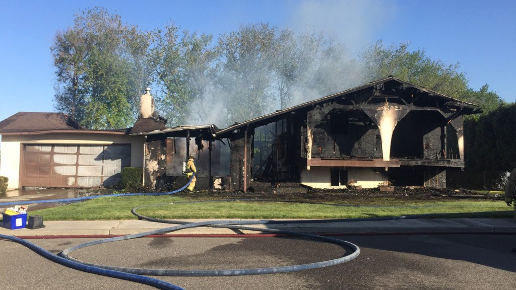Same house in Kennewick catches fire again