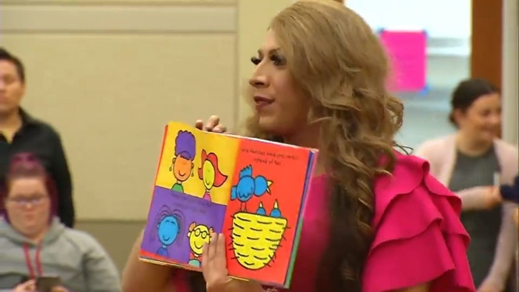 Spokane library to hold drag queen story hour; protest planned
