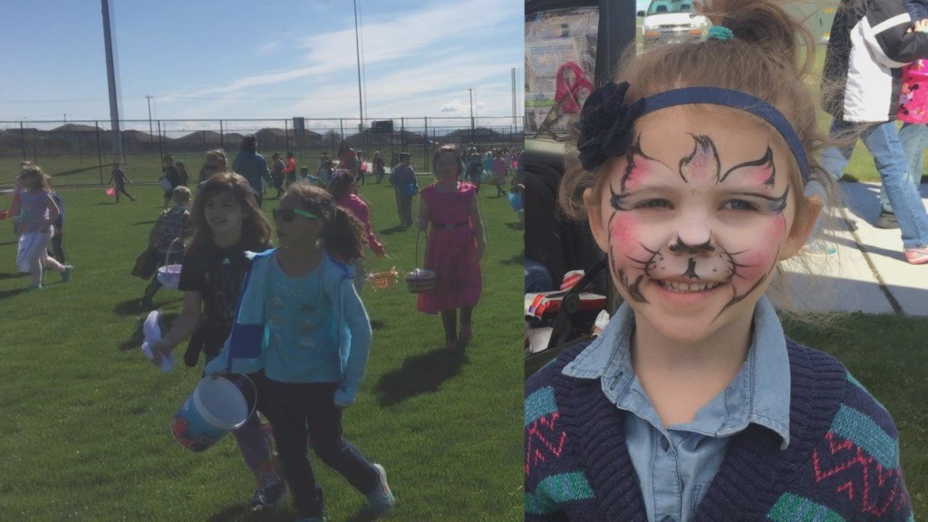 GESA Carousel of Dreams hosts annual Easter egg hunt