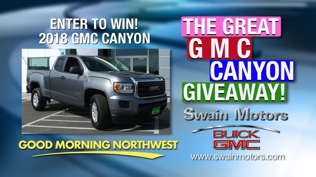 The Great GMC Canyon Giveaway