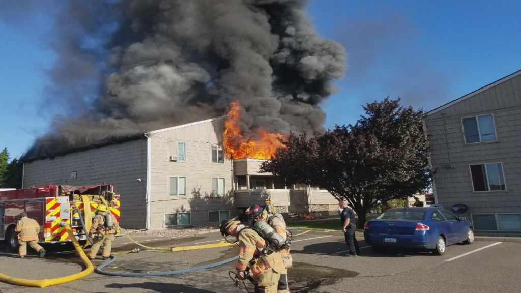 Residents lose everything in apartment fire over the weekend