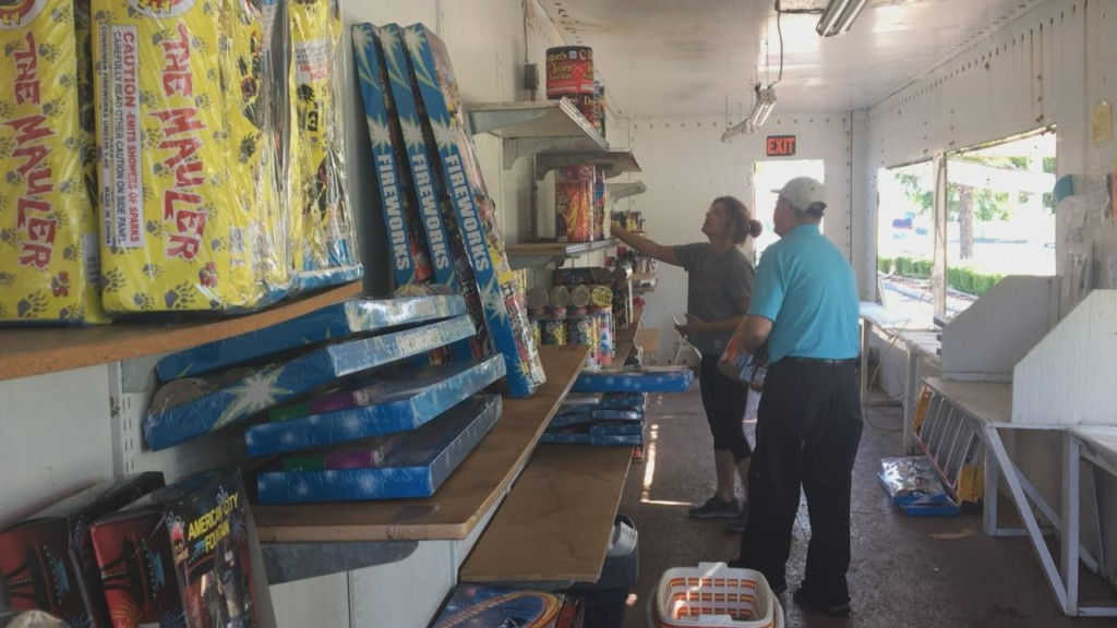 Richland fireworks volunteers hoping to give back with proceeds