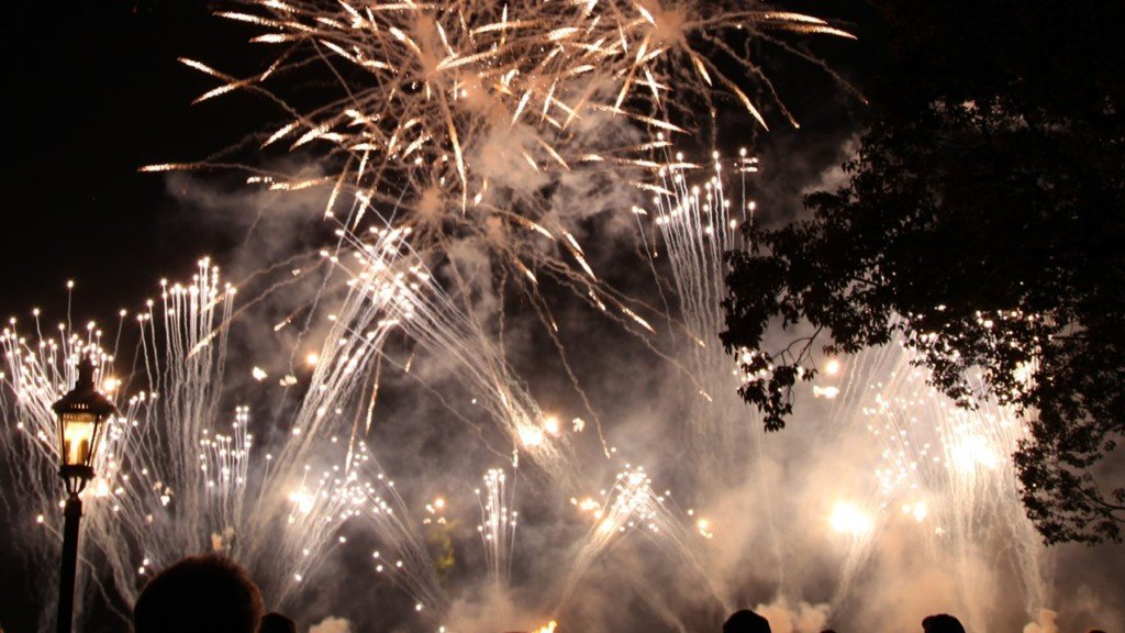 Fireworks: rules and regulations