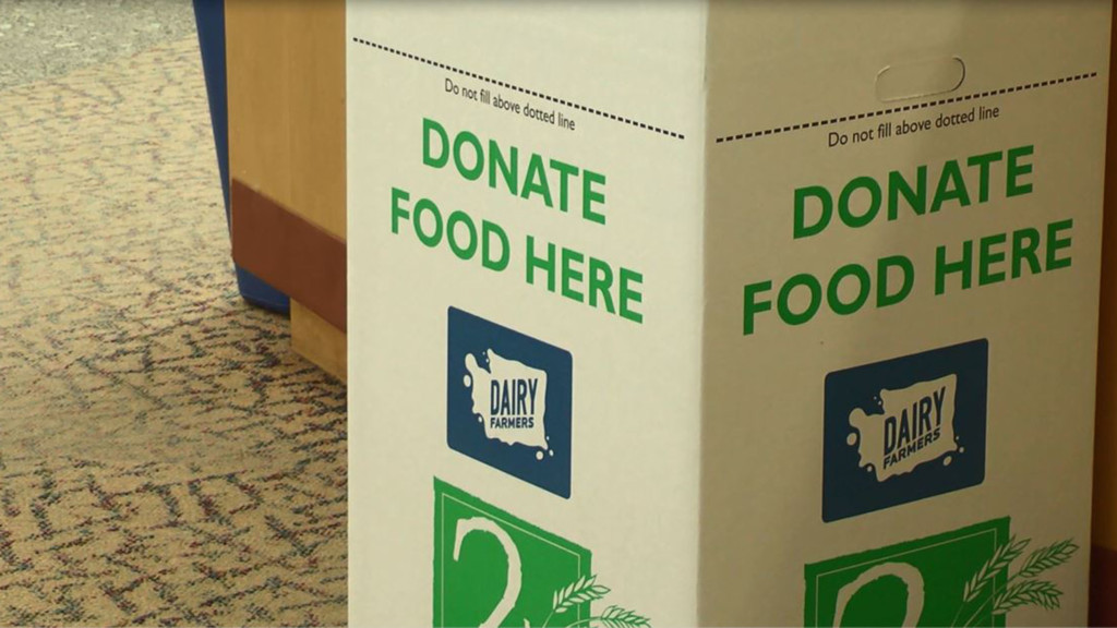 Library late fees diminish with Food for Fines