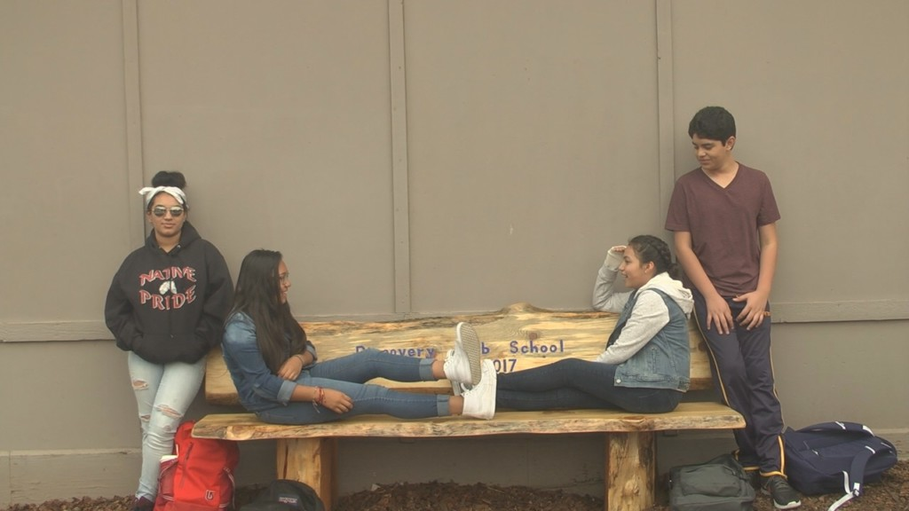 Discovery Lab School receives Friendship bench