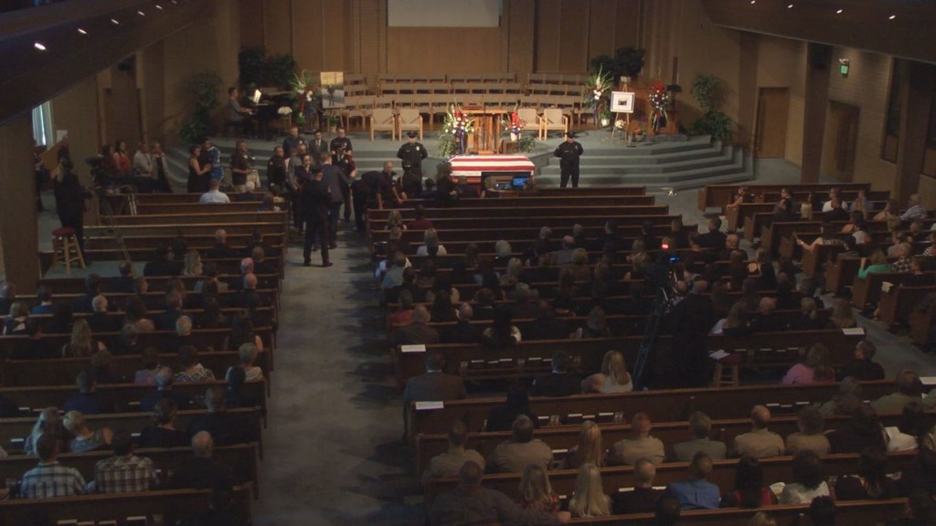 Family, friends celebrate life of Walla Walla police officer
