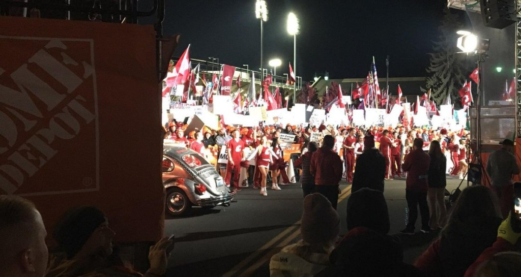 Wake Up! It's College Gameday in Pullman!
