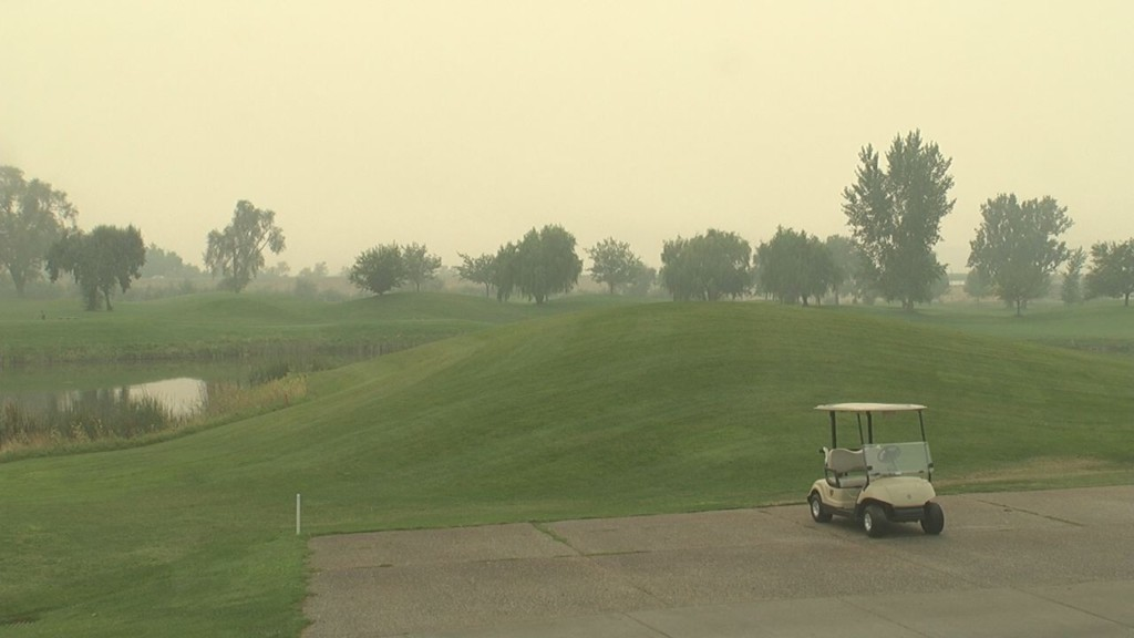 Smoky air affects local golf course business