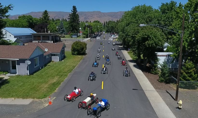 Drivers from all over the country flood Tieton City Park for Grand Prix race