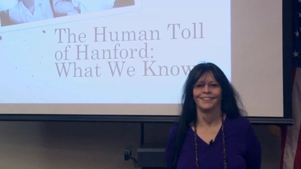 Daughter of former Hanford worker talks about dangers of radiation exposure