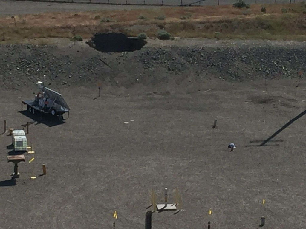 Hanford workers fixing collapsed tunnel, schedules revised