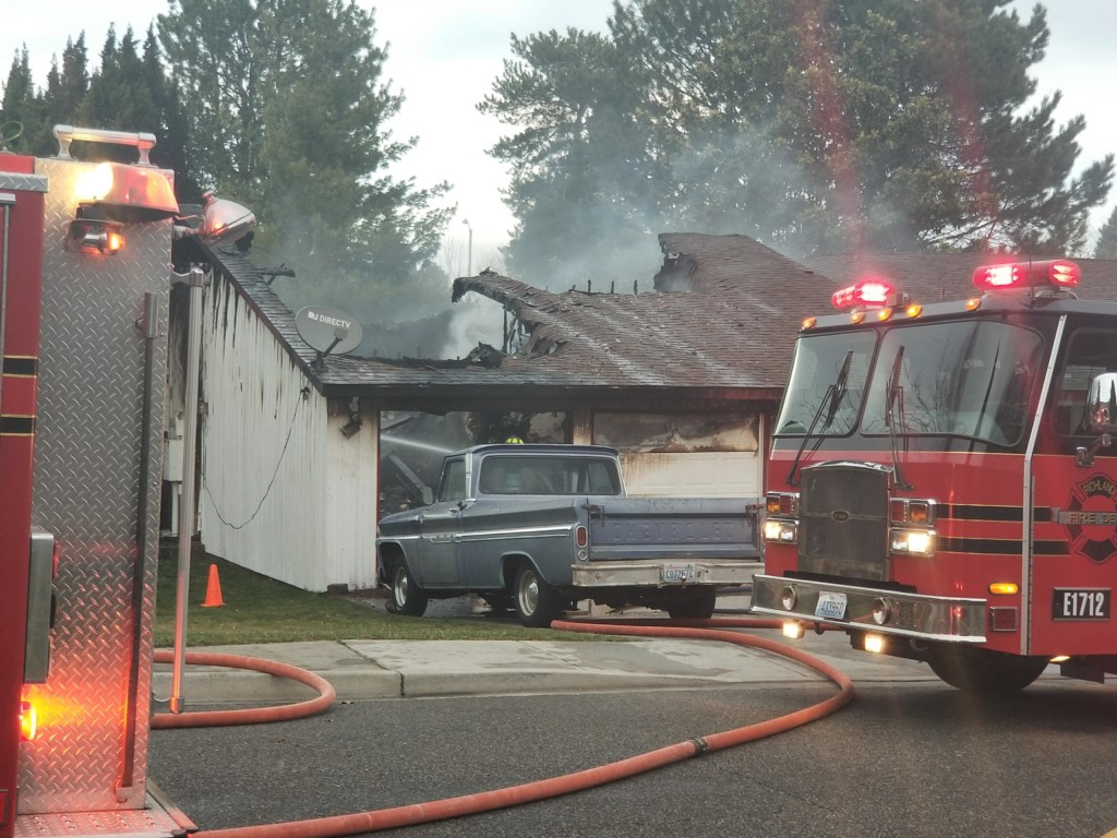 Fire breaks out at Richland home, cause under investigation