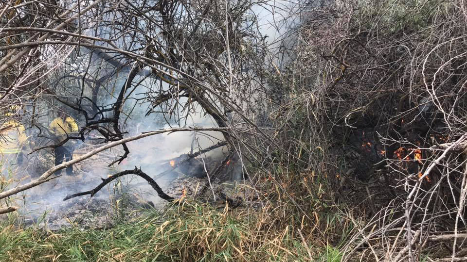 KPD: Fire linked to homeless camp under investigation in Columbia Park